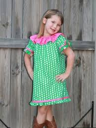 ruffled neckline peasant dress sewing pattern whimsy couture
