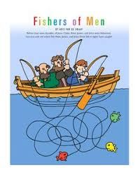 Fishers Of Men Craft For Kids - flame creative children u0027s ministry fishers of men take home