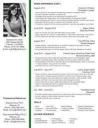 Resume For Interior Design Internship Interior Designer Resume Sample Resume Format For Interior