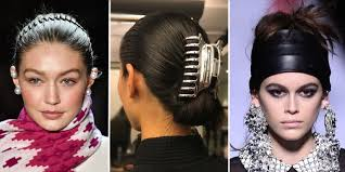 school hair accessories high school hair accessories are now high fashion nyfw aw18 hair