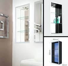 Recessed Bathroom Shelving Recessed Bathroom Shelves Cabinets Recessed Medicine Cabinet