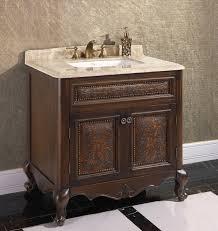 legion 36 inch vintage single bathroom vanity wb 1536l in brown finish