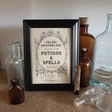 halloween barware halloween apothecary sign halloween decor haunted house