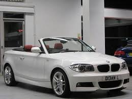 white bmw 1 series sport used white bmw 1 series 2011 petrol 118i m sport convertible
