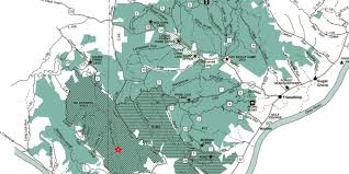 Map Cincinnati Good Sized Fire U0027 Burning At Ohio U0027s Shawnee State Forest