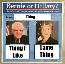 Original Memes - the bernie vs hillary meme is weird ceaseless and kind of sexist