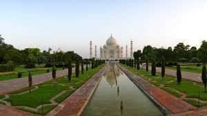 taj mahal garden layout agra u0026 delhi u2013 monkeys mugging and the taj mahal nomadeline