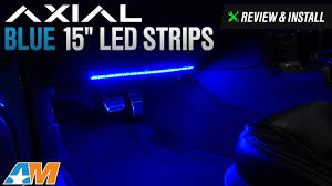 Install Led Light Strip by 1979 2017 Mustang Axial Blue 15