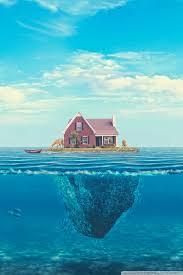 wallpaper cute house house on the ocean 4k hd desktop wallpaper for 4k ultra hd tv