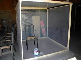 spray paint booth creative diy spray paint booth small home decoration ideas lovely