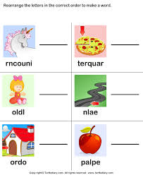 rearrange the letters to make a word worksheet turtle diary