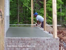 best 25 concrete porch ideas on pinterest stained concrete