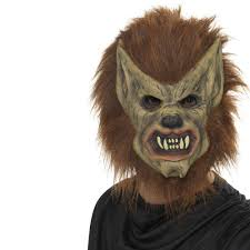 smiffys werewolf mask brown 3 4 face 16 99 a great collection