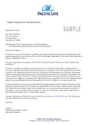 Format For Letter Of Intent by Business Proposal Letter Template Best Letter Sample Free