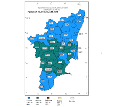 South India Map by More Rain For South India Storms Return To Central Region