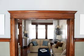 why i u0027ll never paint our wood trim wood trim door molding and