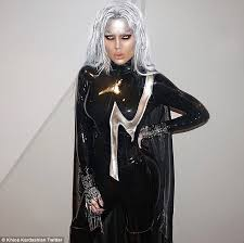 Marvel Halloween Costume Khloe Kardashian Tristan Thompson Costume Storm