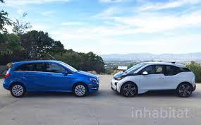 mercedes a class vs b class test drive bmw i3 vs mercedes b class electric drive which