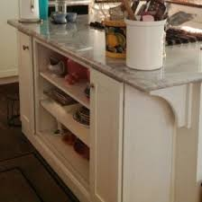 Kitchen Island With Open Shelves Custom Cabinet Options Factory Modifications Size U0026 Style