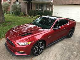 Red And Black Mustang Gt 2016 Gt California Special Ordered Oct 21 Delivered Christmas