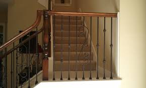 Metal Banister Spindles Houston Stair Remodel Iron Balusters Installation In Houston