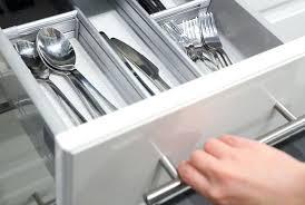 tiroir de cuisine en kit separateur de tiroir cuisine meuble de cuisine range casseroles