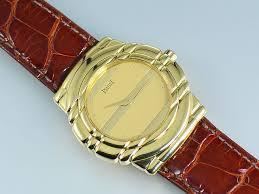 piaget tanagra piaget tanagra 18k yellow gold mens 33 mm manual winding ref