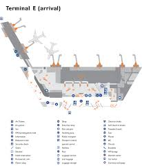 New York Airport Terminal Map by Sheremetyevo Aeroflot