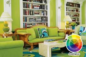 Living Room Colour Scheme In Exquistie  Design Ideas Rilane - Green and yellow color scheme living room