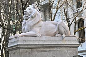 Outdoor Lion Statue by 8 Famous Cat Statues Across America