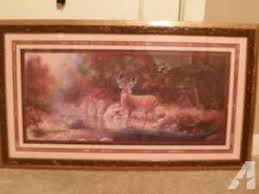 home interiors deer picture home interiors deer picture and candle holder coburg for sale