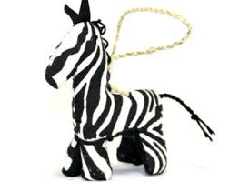 zebra ornaments etsy