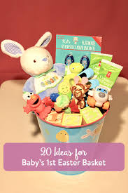 baby easter basket 20 ideas for baby s easter basket the inspired home
