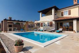 vacation house with pool villa sole island krk linardići