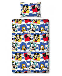 Mickey Duvet Cover Mickey Mouse Polaroid Single Duvet Cover And Pillowcase Set