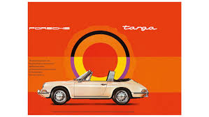 vintage porsche ad plain beauty