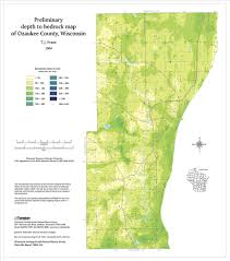 County Map Wisconsin by Wisconsin Geological U0026 Natural History Survey Preliminary