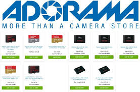 best micro sd card deals black friday sandisk black friday memory and storage deals available at adorama