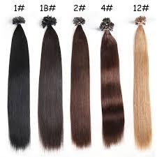 pre bonded hair extensions nadula cheap pre bonded nail u tip fusion hair extensions