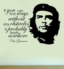 Wall Art Quotes Stickers Che Guevara Silhouette Vinyl Wall Art Quote Sticker Decal Home