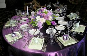 Decorating With Plum Plum Wedding Table Decorating Decorating Of Party