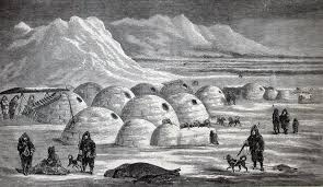 this drawing of an inuit village shows how western explorers came