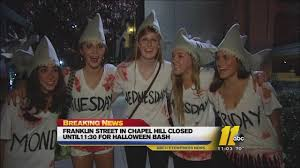 chapel hill streets fill for annual halloween party abc11 com