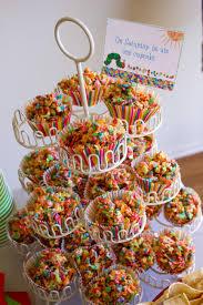 Halloween Crispy Cakes Re U0027s Very Hungry Birthday Party 2nd Birthday Theme