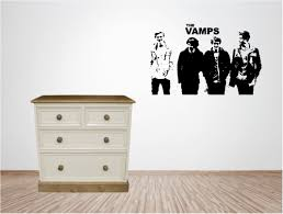 Wall Art Quotes Stickers The Vamps Vinyl Wall Art Quote Sticker Music Singer Musical Ebay