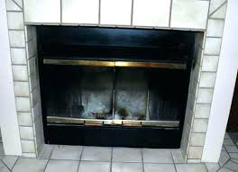 Chiminea San Diego Fireplace Front Replacement Fireplace Door San Diego U2013 Bowbox