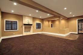 how to carpet a basement floor basement