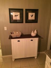 built in trash can cabinet built in trash can cabinet double tilt out trash can made with