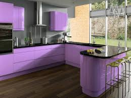 Purple Kitchens by Kitchens With Bars Zyinga Color Purple Kitchen Abstract Design