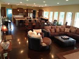 open floor plan kitchen living room enthralling 6 kitchen living room dining open floor plan flooring